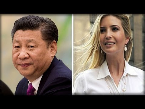 CHINESE GOV'T MAKES IVANKA TRUMP ANNOUNCEMENT THAT'S SURE TO GRAB DONALD'S ATTENTION
