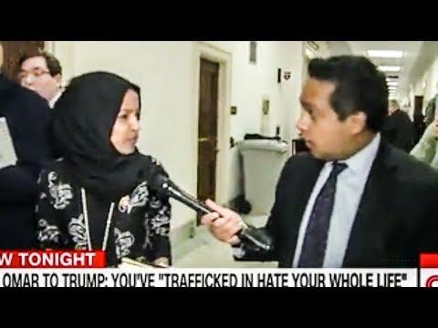 Ilhan Omar SHUTS DOWN Useless CNN Reporter