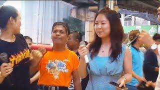 Yue liang dai biao wo de xin-nurul & pelancong china yg cun feat redeem buskers