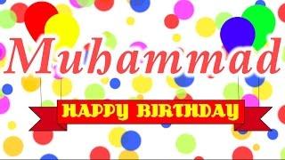 Happy Birthday Muhammad Song