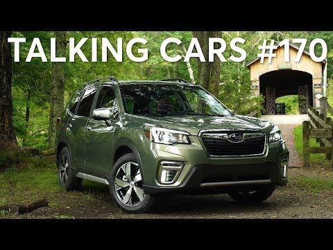 2019 Subaru Forester; Waze, Google Maps & CarPlay; Alexa Auto | Talking Cars #170