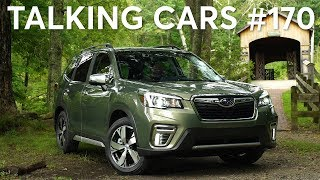 2019 Subaru Forester; Waze, Google Maps & CarPlay; Alexa Auto   Talking Cars #170