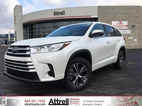2017 Toyota Highlander Awd Le Standard Package Attrell