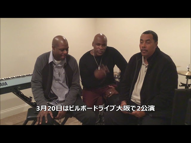 Tony M , Damon Dickson, Kirk Johnson from THE NEW POWER GENERATION Video Message for Billboard Live