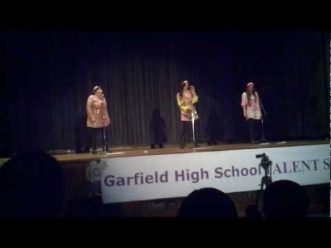 """ I will Survive "" Garfeld Talent Show May 2012 Garfield High School"