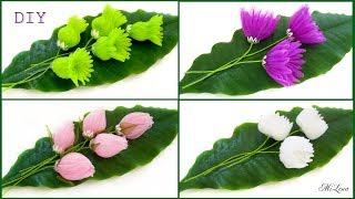 ORGANZA FLOWERS / ЦВЕТЫ ИЗ ОРГАНЗЫ, МК / DIY Magic Organza Flowers