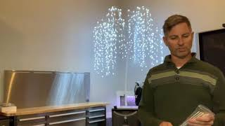 Canvas Led Twinkling Tree Video Review By Robert Youtube