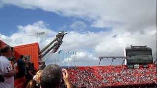 Miami Dolphins National Anthem with Jets fly over