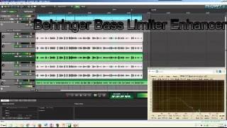 boss behringer tomsline mooer bass limiter comparison tracks