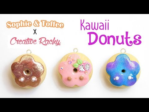 Kawaii Polymer Clay Donuts│sophie Amp Toffee Subscription