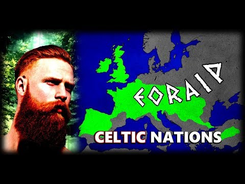 How did the Celtic Nations Dominate Europe and Beyond? People of Scotland, Ireland, Wales and More