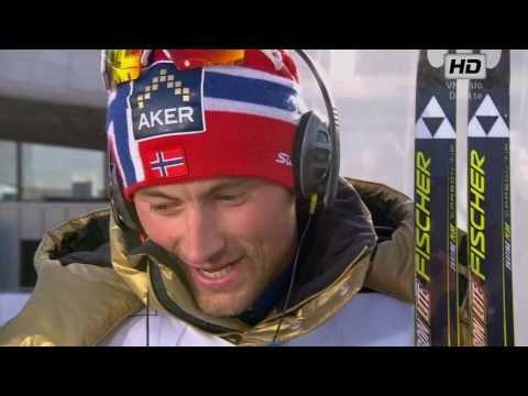 VM Men's 50 Km Holmenkollen 2011 - Petter Northug INTERVIEW