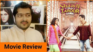 Shaadi Mein Zaroor Aana - Movie Review