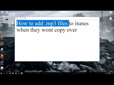 Mp3 Files Wont Transfer to Itunes FIX!!! [IOS 10.2.1]