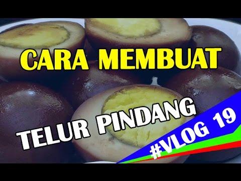 Cara Membut Telur Pindang (Khas Jawa Timur) #VLOG19