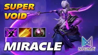 MIRACLE SUPER VOID SPIRIT - NIGMA - Dota 2 Pro Gameplay