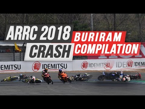 ARRC 2018 Buriram Crash & Mistakes Compilation