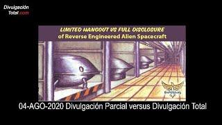 04-AGO-2020 Divulgación Parcial versus Divulgación Total