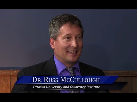 WichitaLiberty.TV: Russ McCullough, Ottawa University and Gwartney Institute