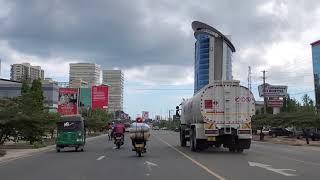 Streets of Dar Es Salaam in Tanzania