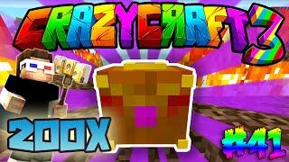 200 Tane PANDORANIN SÜPRİZ KUTUSUNU AÇIYORUZ! (METEOR YAĞIYOR!) - Türkçe Minecraft Crazy Craft : #41