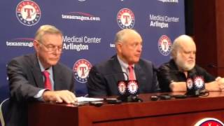 Nolan Ryan opening statement