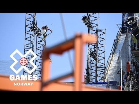 Tiril Sjåstad Christiansen wins Women's Ski Big Air bronze | X Games Norway 2018