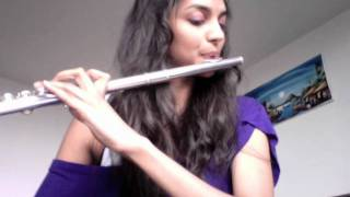 I wanna dance with somebody - Whitney Houston Flute cover (Tribute)