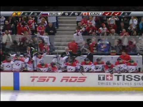 Canada Vs. Russia World Juniors 2008-09 Shootout
