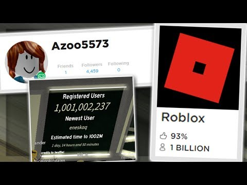 Roblox Reached 1 Billion Players Youtube