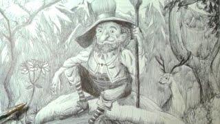 Drawing a gnome - Dibujando un gnomo