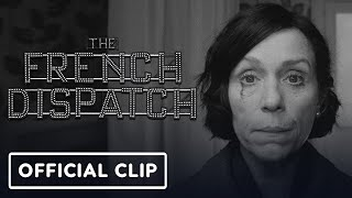 The French Dispatch - Official Clip (2021) Wes Anderson, Bill Murray