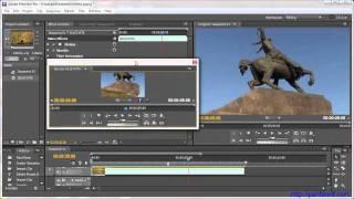 Настройка рабочей области Adobe Premiere Pro