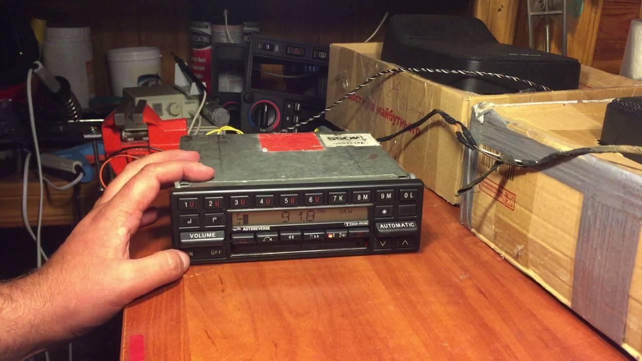 Becker Mexico + BlueTooth cassette adapter