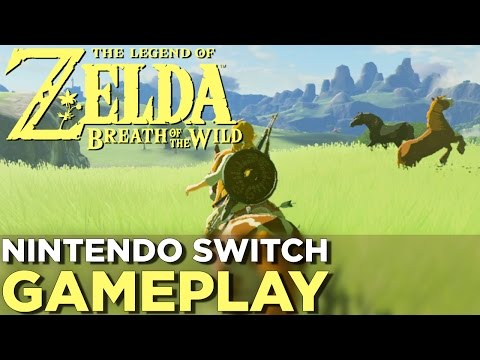 17 Minutes of THE LEGEND OF ZELDA: BREATH OF THE WILD Nintendo Switch Gameplay