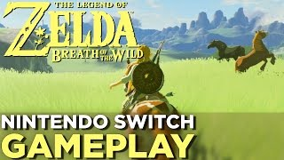 17 Minutes of THE LEGEND OF ZELDA: BREATH OF THE WILD Nintendo Switch Gameplay