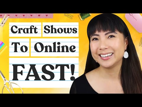 Switch From Craft Shows to Online Sales FAST! ⚡ Guide for Handmade Business