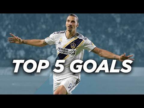 Top 5 Zlatan Ibrahimovic Goals for LA Galaxy