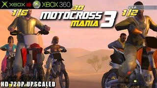Motocross Mania 3 - Gameplay Xbox HD 720P (Xbox to Xbox 360)