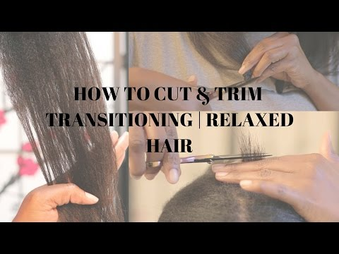 Trimming Transitioning Hair Doovi