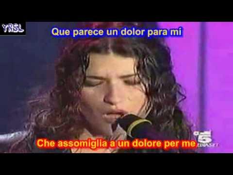 LAURA PAUSINI EMERGENCIA DE AMOR ITALIANO Un'Emergenza D'amore SUBTITULADO