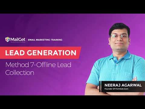 Video-13 Lead Generation Method-7 Offline Lead Collection
