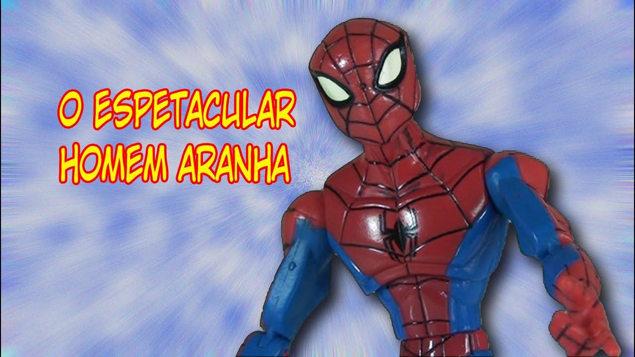 Boneco O Espetacular Homem Aranha 2008 Youtube