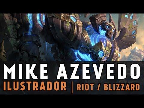 Entrevista: Mike Azevedo | Game Concept Art Brasil