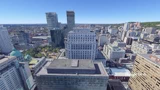 Place Ville Marie Scenic elevator ride - Google Earth Studio