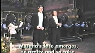Jerry Hadley & Thomas Hampson - O Mimi, tu piu non torni - La Boheme