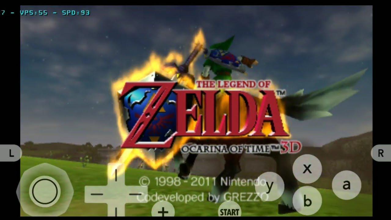 [Citra MMJ ANDROID] Zelda Ocarina of Time (Snapdragon 855 - 3DS Emulator)