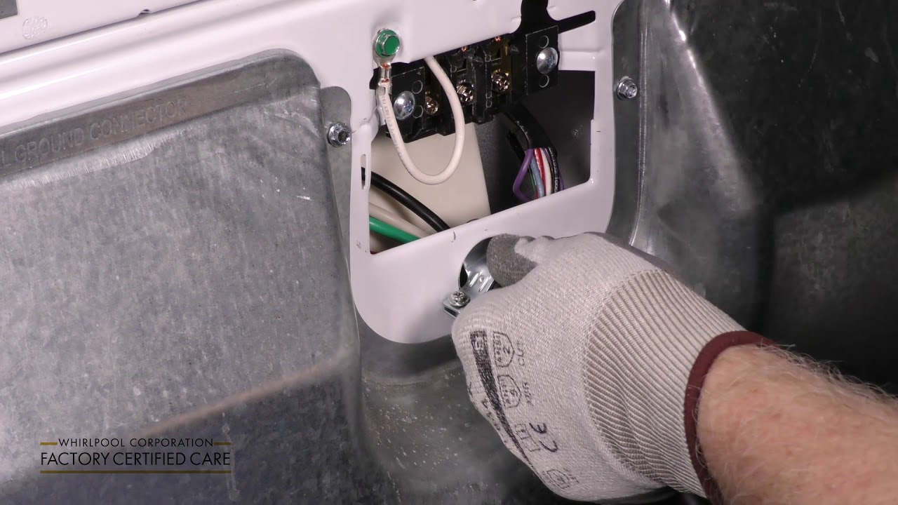 install a 4 wire power cord to your dryer [ 1280 x 720 Pixel ]