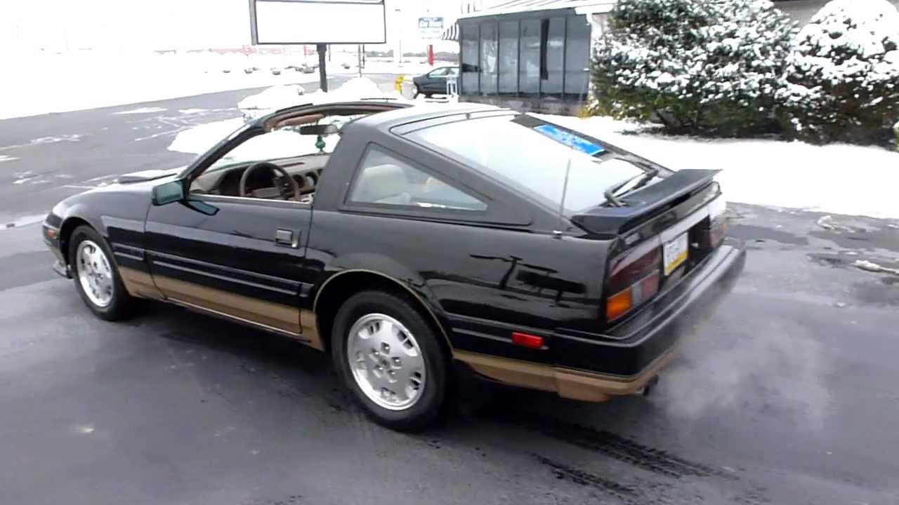 Nissan 300ZX TURBO Z31 BLACK & GOLD by Scott Clayton - YouTube
