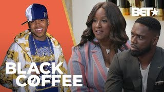 Tina Davis Talks How To Become An A&R And Working With Chris Brown & More Talent! | Black Coffee